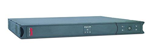 APC Smart-UPS SC - SC450RMI1U - Gruppo di continuità (UPS) 450VA (Rackmount 1U, Line Interactive, 4 Uscite IEC-C13, Shutdown Software)