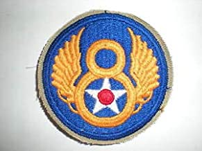 USAAF WWII 8TH AIR Force Army AIR Corps Patch (Reproduction) by HighQ Store