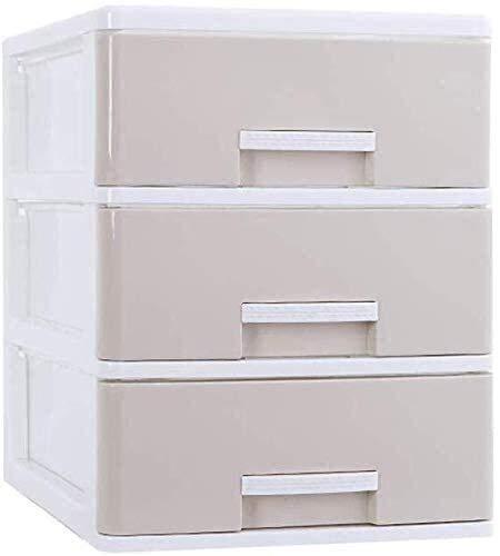 ZHEYANG Cajonera Escritorio Organizador de Escritorio Tipo de cajón Minimalista escandinavo Almacenamiento Multi-Capa PP Material Material de Escritorio Almacenamiento de Archivo 2 Tamaño