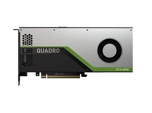 DELL NVIDIA Quadro RTX 4000 Graphics Cards (Quadro RTX 4000, 8 GB, GDDR6, 256 bit, 7680 x 4320 pixels, PCI Express x16 3.0)