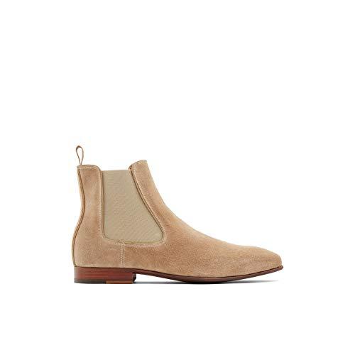 ALDO Men's Biondi-R Chelsea Boot Fashion, Light Beige, 12
