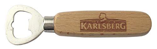 Karlsberg Brauerei - Flaschenöffner mit Holzgriff