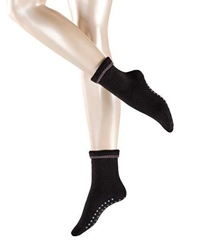 ESPRIT Damen Cosy Homepads 2 W HP Hausschuh-Socken, Schwarz (Black 3001), 39-42 (UK 5.5-8 Ι US 8-10.5)