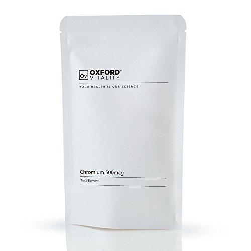 Oxford Vitality - Chromium Picolinate 500mcg Tabletten