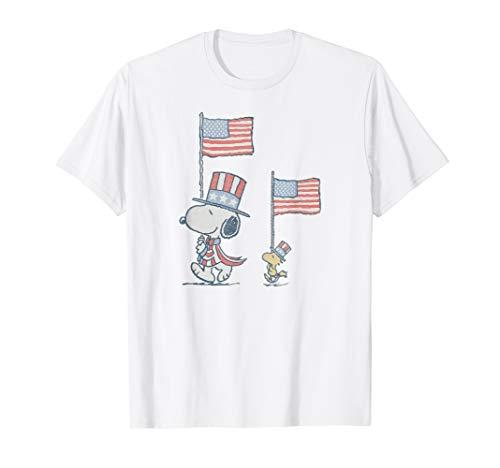 Peanuts Snoopy WoodStock March T-Shirt