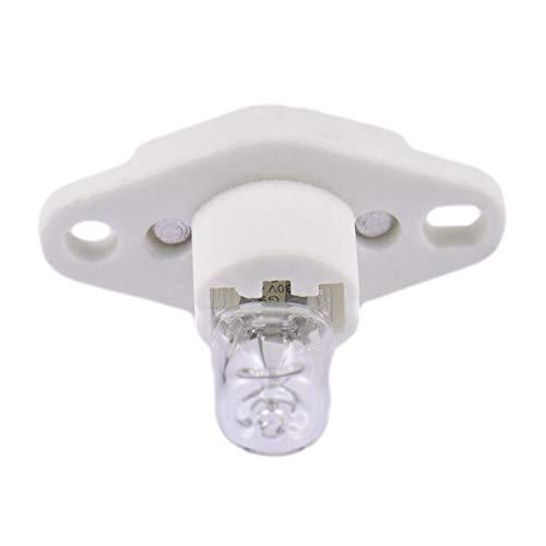 ruist-eu 4 Uds G9 luz de Horno para Horno microondas Horno Cocina Bombilla, lámpara de freidora de Aire a Prueba de explosiones 40 W 220 V