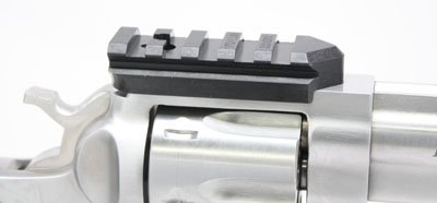 Weigand Combat RUGER Revolver Mini Scope Mount - Black