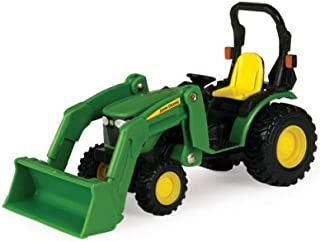 TOMY John Deere Tractor with Loader 1/32 Scale