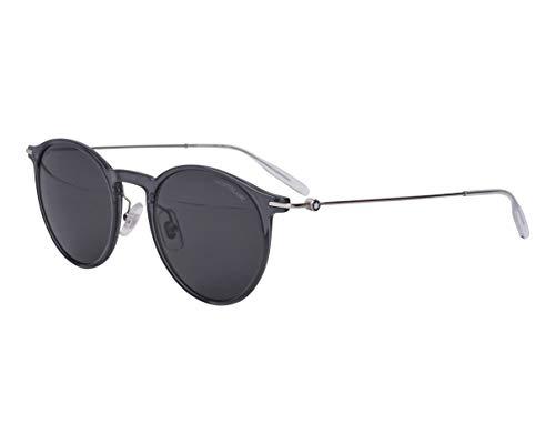 Mont Blanc Gafas de Sol MB0097S GREY/GREY 50/21/145 hombre