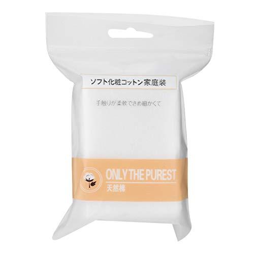 Toallita de limpieza suave de algodón para piel sensible para limpieza facial (paquete de 90 tabletas)