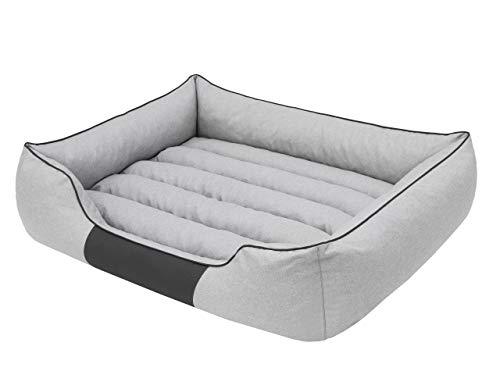 Cama para perros, sofá para perros, cojín para perros, cama para animales, suave, tamaño XXL, 110 x 90 cm