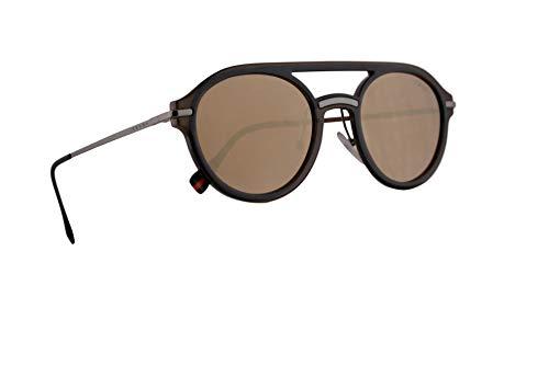 Prada PS05TS gafas de sol w / 51mm de lente oscuro del espejo del oro 5N9HD0 PS 05TS MSF SPS05T 05T hombre marrón Grande