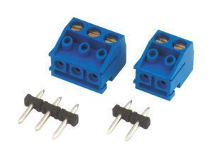 Regleta de conexión 10.876/101 Circuito Impreso 2 Terminales 10 mm Electro DH...