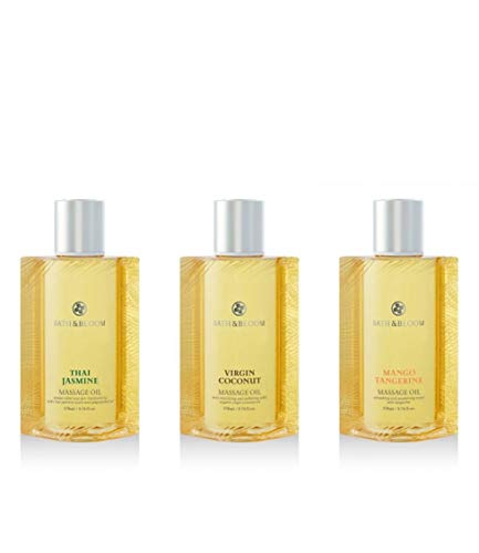 Best Price BATH and BLOOM Massage Oil Set 9.