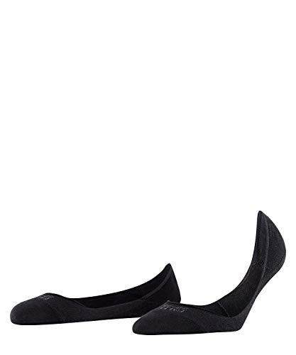 FALKE Damen Füßlinge Step - 92% Baumwolle , 1 Paar, Schwarz (Black 3009), Größe: 41-42