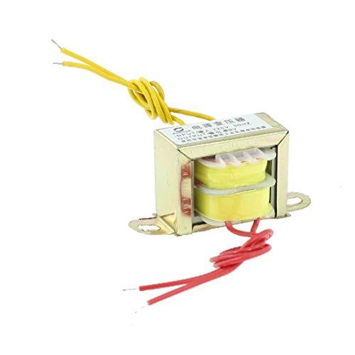 New Lon0167 220V 50Hz Input 9V Output Single Phase Vertical EI Core Power Transformer(220V 50Hz Eingang 9V Ausgang Einphasen - Vertikaler EI - Kerntransformator