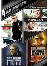 Steve McQueen 4 Film Favorites Bullitt / Papillon / The Hunter / Nevada Smith (Includes UltraViolet Digital Copy)