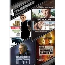 Steve McQueen 4 Film Favorites Bullitt / Papillon / The Hunter / Nevada Smith (Includes UltraViolet Digital Copy)