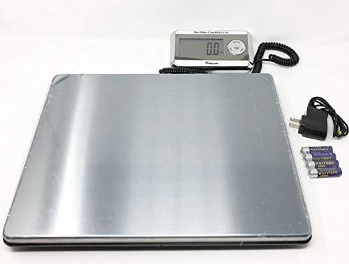 Weighology Heavy Duty Digital Postal Parcel Scale UPS Post Office Scale 440 Lb Large Platform product image