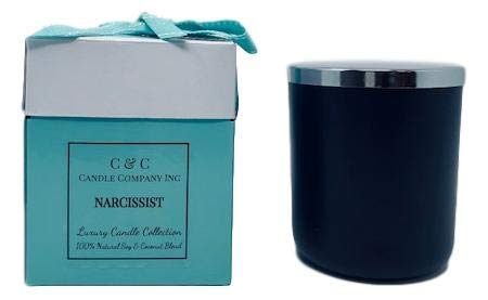 Mysterious & Exotic Candles 16 oz, Canadian Made - Hand Poured by C & C Candle Company Inc, Luxury Aromatherapy Candles (Narcissist)