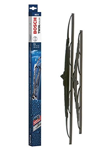 Bosch Scheibenwischer Twin Spoiler 552S, Länge: 550mm/400mm – Set für Frontscheibe