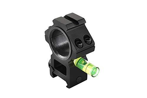 fireclub Tactical Rifle Alcance vistas de montaje para mira telesc/ópica 25,4//30/mm tubos burbuja Esp/íritu Nivel caza accesorios