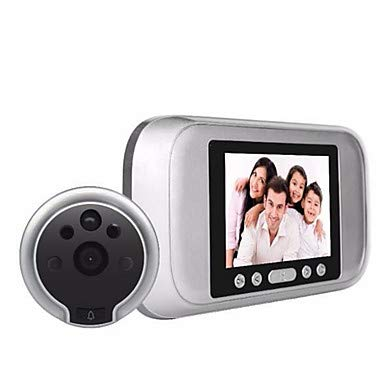 LDQLSQ HD 720p elektronische Cat Eye Kamera Mobile Video kommt mit Speicher Weißlicht Nachtsicht extrem niedrigen Energieverbrauch