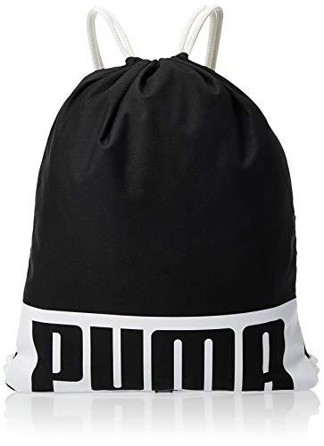 PUMA Unisex Deck Gym Sack Turnbeutel, schwarz(Puma Black), OSFA