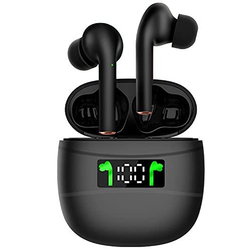 Auriculares inalámbricos Bluetooth, auriculares inalámbricos in-ear compatibles con teléfonos móviles IP