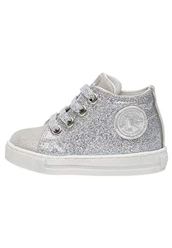Falcotto Magic-Sneaker mit Glitter in Silber-Silber Silber 21