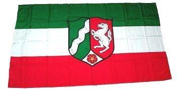 Flagge Fahne Nordrhein-Westfalen NRW 30 x 45 cm FLAGGENMAE®