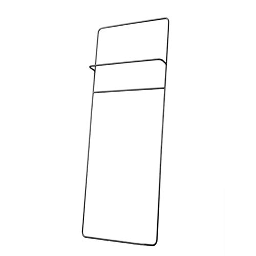 Ladder Towel Rail, handdoek Stand Iron, handdoek Stand Free Standing, Zwart 160 * 40cm