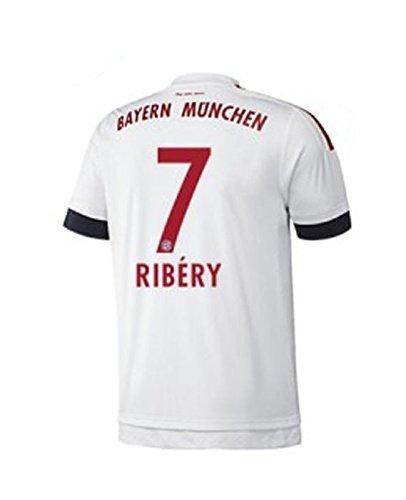 FC Bayern Away Trikot Kinder 2016 - RIBERY 7, Größe:128