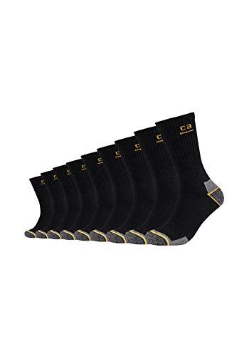 Camano Unisex Arbeitssocken Damen und Herren (9x Paar) Work Socken schwarz 39-42