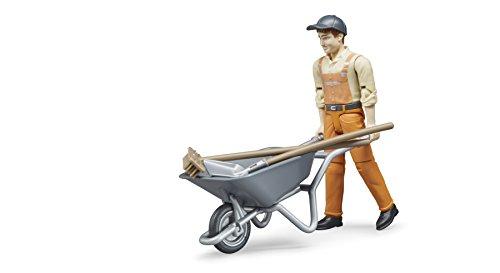 bruder 62130 Fahrzeug Figurenset Kommunalarbeiter mit Zubehör