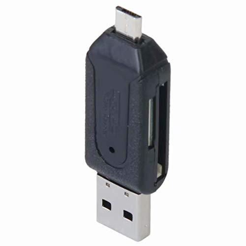 USB 2.0 + Micro USB OTG SD ST Lector De Tarjeta Teléfono Celular Tableta PC