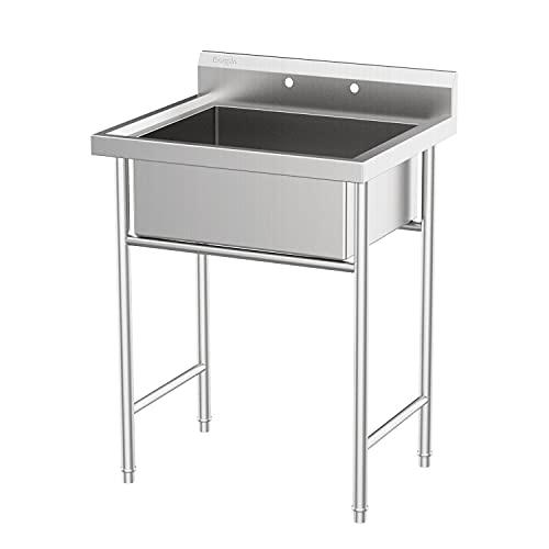 AlightUp Upgraded Commercial Sink Freestanding Utility Sink Slope Sink...