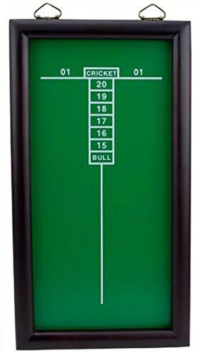 Triple Out Darts Green Cricketeer Dart Chalkboard