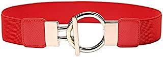 YouBella Jewellery Celebrity Inspired Adjustable Kamarband Waist Belt for Women/Girls (YB_Belt_33) (Red)