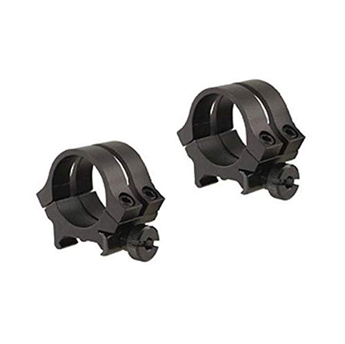 WEAVER 49046 Quad Lock 1-Inch Medium Detachable Rings (Matte Black)
