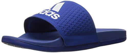 adidas Men's Shoes | Adilette CF Ultra Slide Sandals, White/Collegiate Royal, (14 M US)