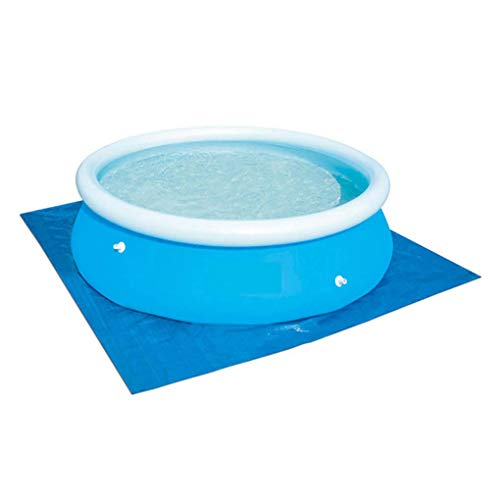 LEVEL GREAT Platz Pool Polyester Mat-Staub-Beweis-Pool-Abdeckung Tuch verdickte Bodentuch 274cmx274cm