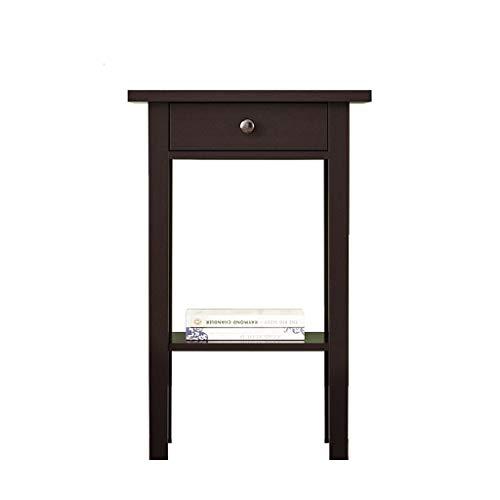 nachtkastje massief hout eenvoudig kabinet nachtkastje kast hoge ladekast