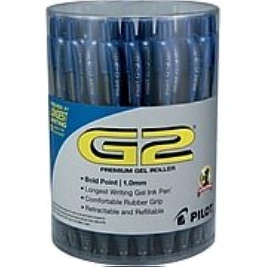 Pilot G2 Premium Retractable Gel-Ink Rolling Ball Pens, Bold Point (1.0mm), Blue, 36/Pk (84099)