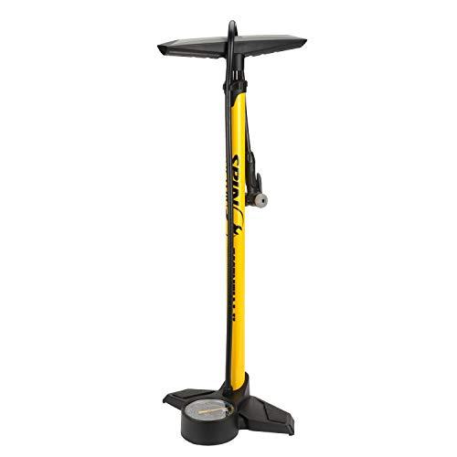 Spin Doctor Essential II Floor Pump, Yellow, Universal ( 40-5517)