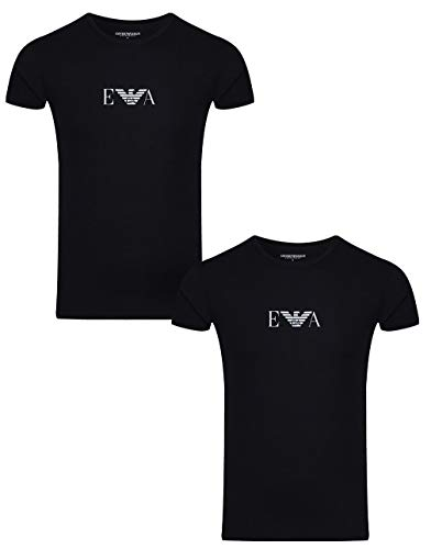 Emporio Armani T-Shirt Herren XXL Black 111267-CC715-27435-TXXL