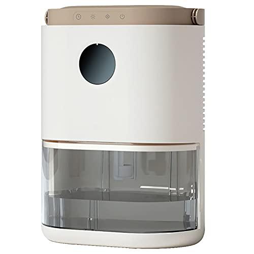 CLING Deshumidificador deshumidificador eléctrico para el hogar pequeño portátil y silencioso Mini deshumidificador eléctrico para habitación media Home sótano dormitorio baño