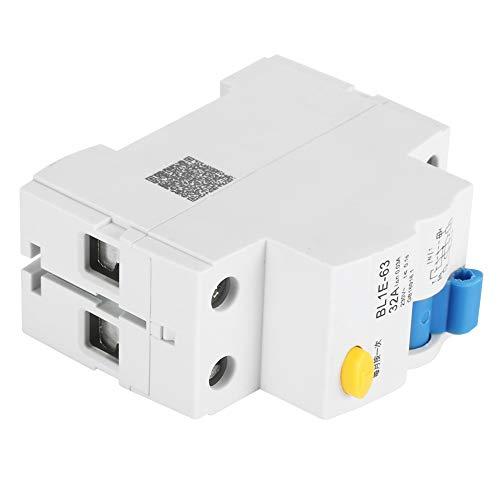 Disyuntor de corriente residual, disyuntor de corriente Protección contra sobrecarga 230 V 30 mA Durable para decoración del hogar para construcción de ingeniería