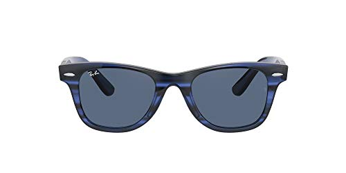 Ray-Ban Gafas de Sol ORIGINAL WAYFARER JUNIOR RJ 9066S Striped Blue/Dark Blue 47/20/130 unisex
