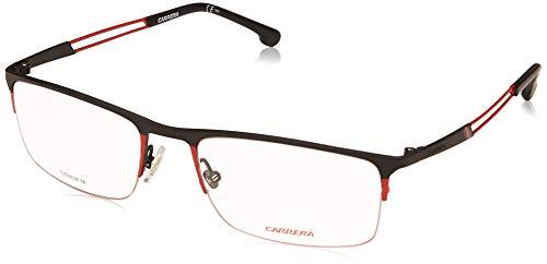 Carrera 8832 Eyeglass Frames CA8832-0OIT-5519 - Black Redgd Frame, Lens Diameter 55mm, Distance